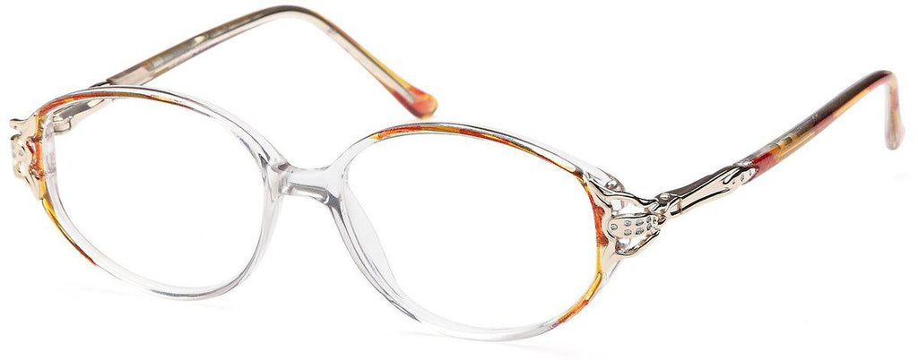 Pink-Classic Oval Michelle Frame-Prescription Glasses-Eyeglass Factory Outlet