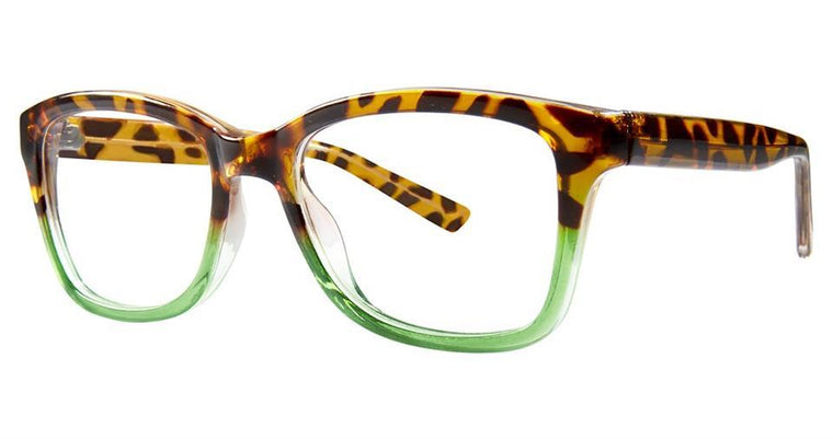 Tortoise-Modern Square Soho 1030 Frame-Prescription Glasses-Eyeglass Factory Outlet