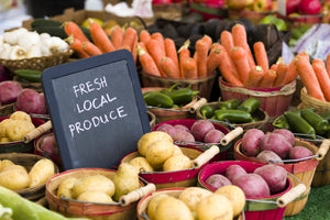 Buy fresh and local vegetables & fruit