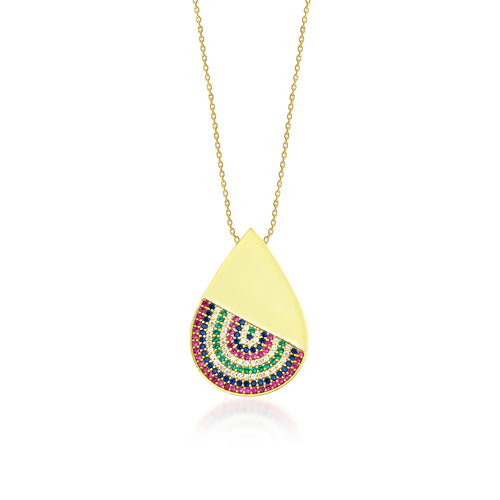 Pacific Rainbow Necklace