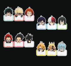 Boku no Hero Academia: Character Name Tags