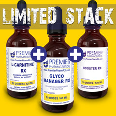LIMITED EDITION STACK! Glyco Manager + L-Carnitine + Booster