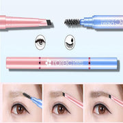 Multifunction Automatic Eyebrow Pen for Long Lasting Waterproof Eyebrow beauty Pencil With Eyebrow Makeup Brush - Innolv