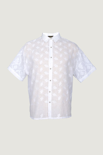 Jorge - Cotton Featherlight Jacquard with Metal Buttons