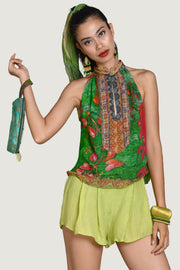 Masha Chiffon Top - Georgette Digital Print