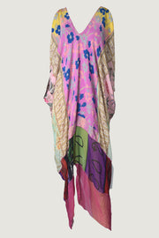 Kacia Silk Chiffon Print Dress