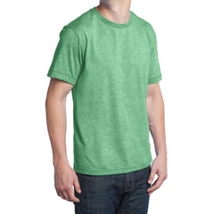 Men's Young Tri-Blend Crewneck Tee - Green Heather