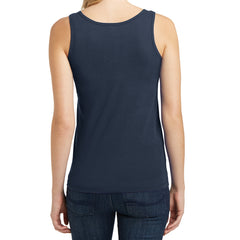 Women's Juniors The Concert Tank - New Navy