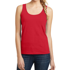Women's Juniors The Concert Tank - New Red