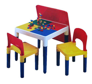 Table and Chair Set with Blocks