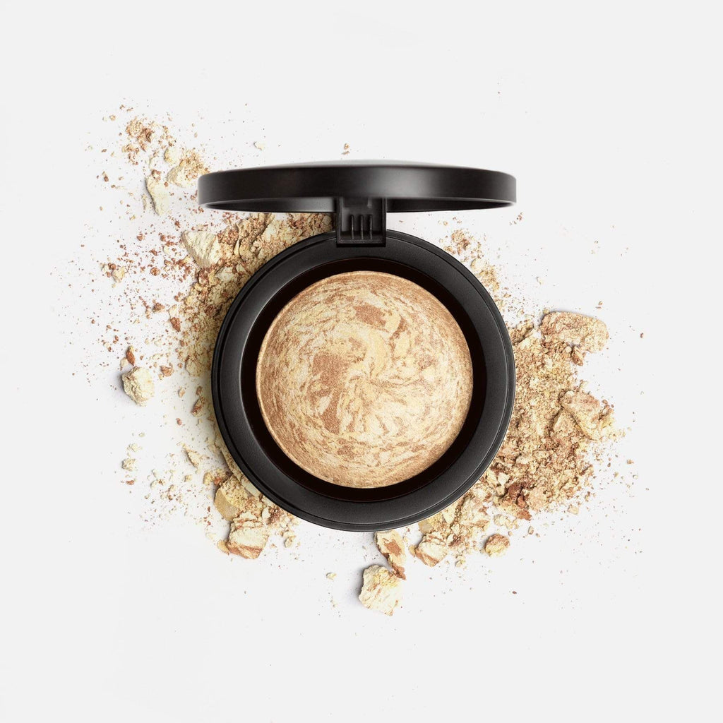 MARBLE MINERAL BLUSH FACE POWDER 4. GOLD DIGGER