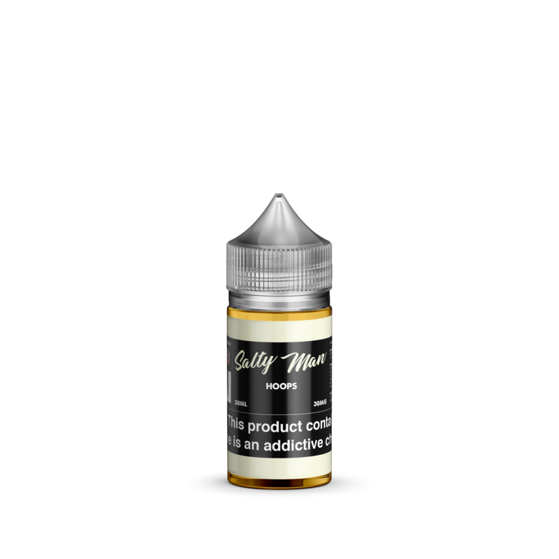 Salty Man Nicotine Salt E-Liquid Line - Hoops