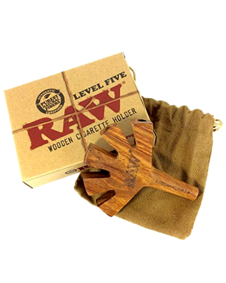 Raw Level 5 wooden cig holder (Holds 5 Joints)