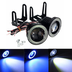 Paar 30W COB LED Car Mistlamp Ice Blue Halo Angle Eyes Ring Bulb