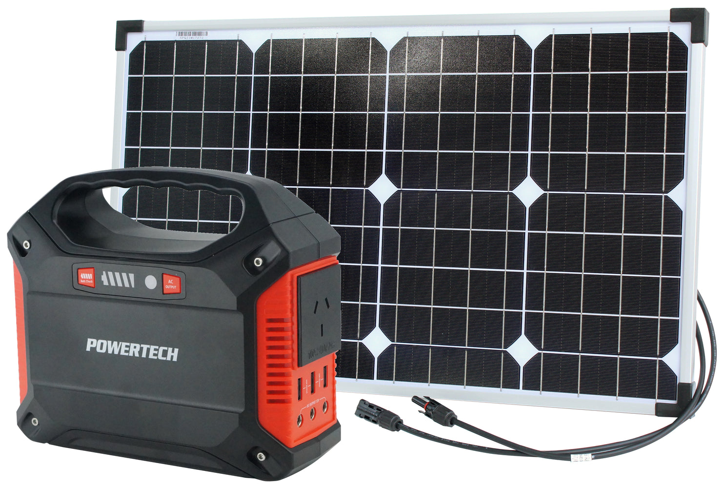 Portable Power Centre and 40W Solar Package - Energy Stuff