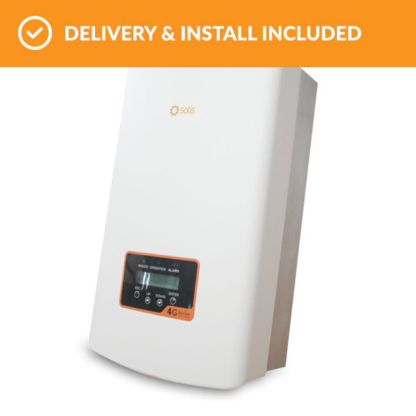 Solis 1P4.6K – 4G Solar Inverter - Energy Stuff