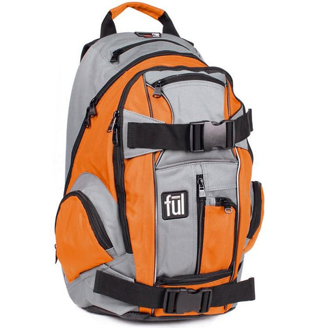 FUL Overton Skateboard Backpack - Orange