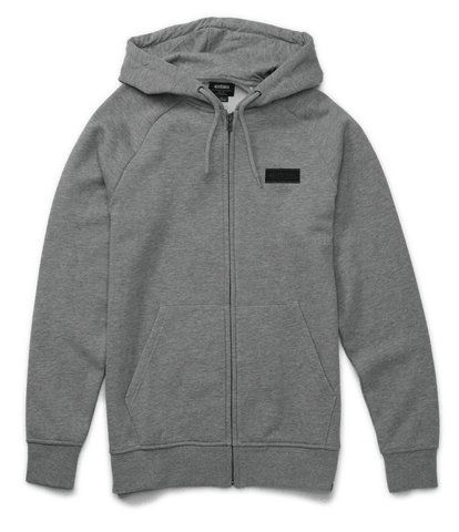 Etnies Core Icon Zip Hoodie, Grey
