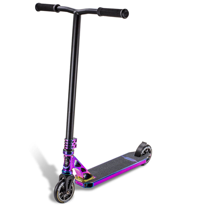 Slamm Scooter Sentinel Complete Stunt Scooter, Oil Slick Stunt Scooter Slamm Scooters