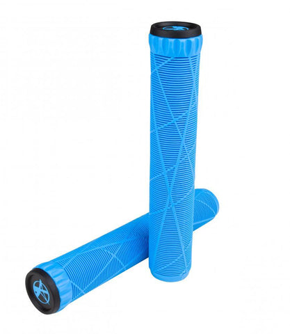 Addict Scooters OG Stunt Scooter Grips, Neon Blue