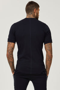 BLACK TAPE SLIM FIT TSHIRT