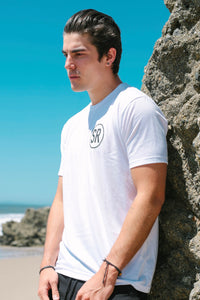Men's SR Logo Short Sleeve T-Shirt - White