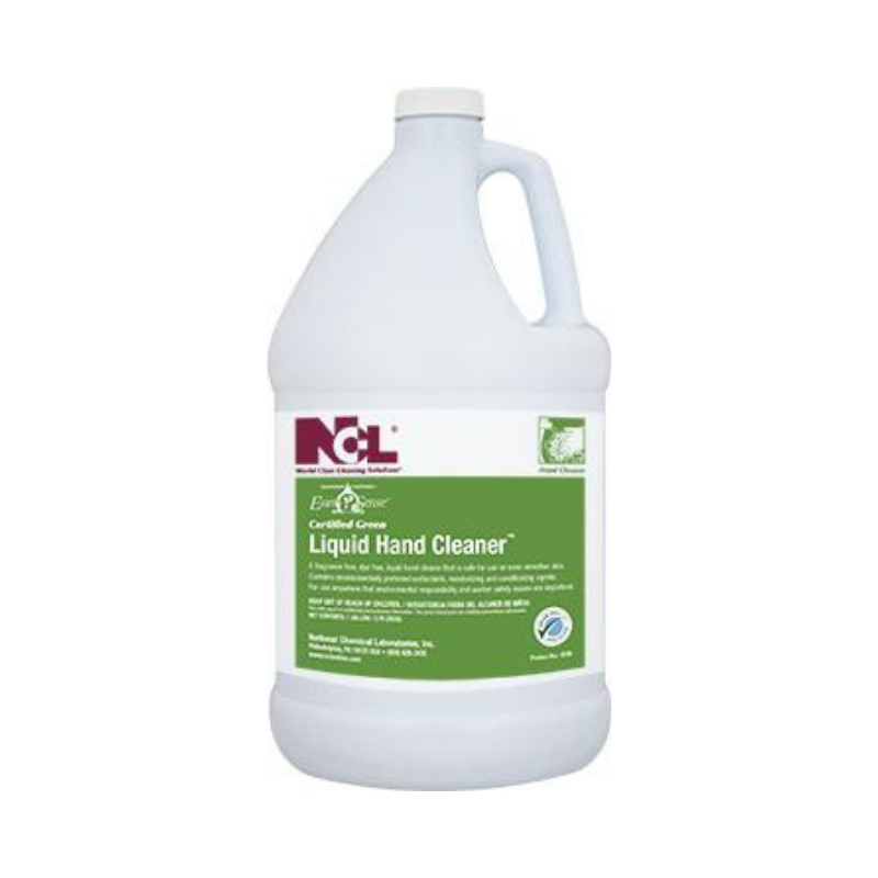 Earth Sense® Certified Green Liquid Hand Cleaner, 1 gal (Carton of 4)