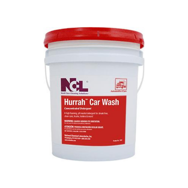 Hurrah Car Wash Concentrated Detergent, 5 gal (Each)