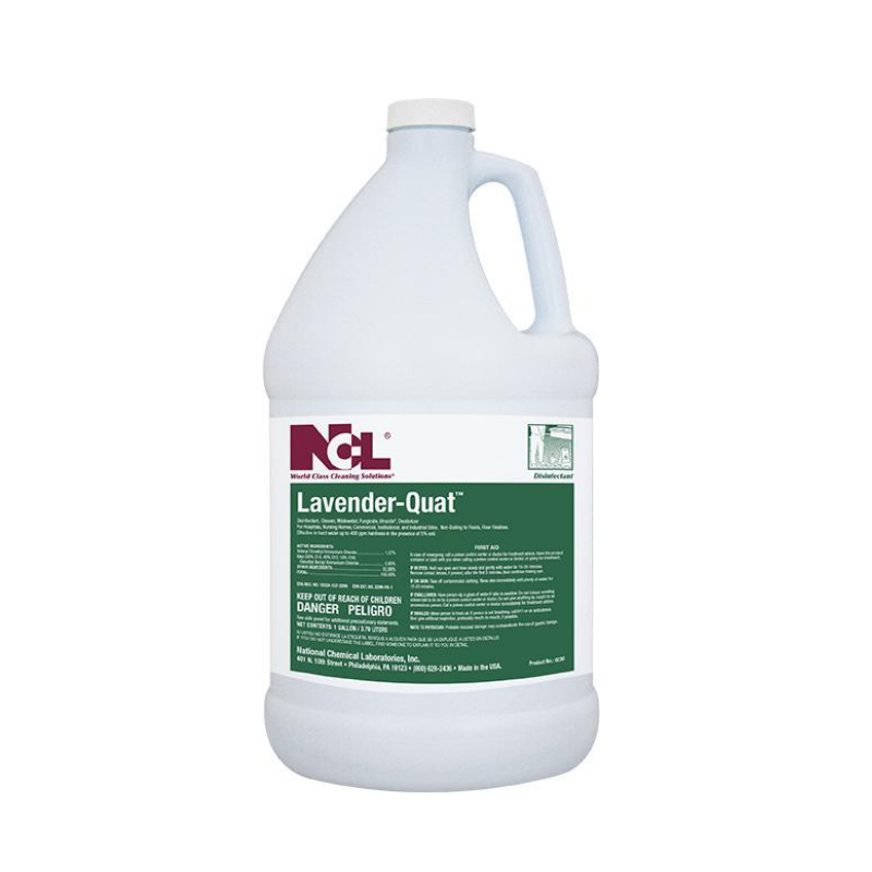 Lavender-Quat Disinfectant Cleaner, 1 gal (Carton of 4)
