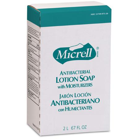 GOJO Micrell Antibacterial Lotion Soap(2000 mL NXT?)