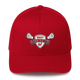Embroidered Lakota West Lacrosse Red Flex Fit Hat