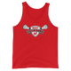 Lakota West Lacrosse Red Tank Top