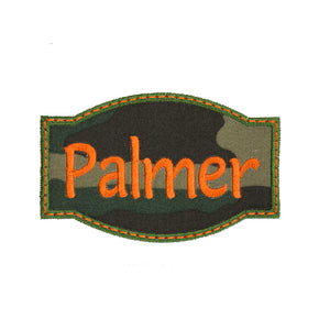 Camo Name Patch