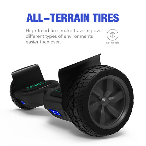 "Koowheel K7 Hoverboard All-Terrain 8.5"" Self Balance Scooters Two Wheel Electric Scooter 500w*2 Over Tough Road Condition"
