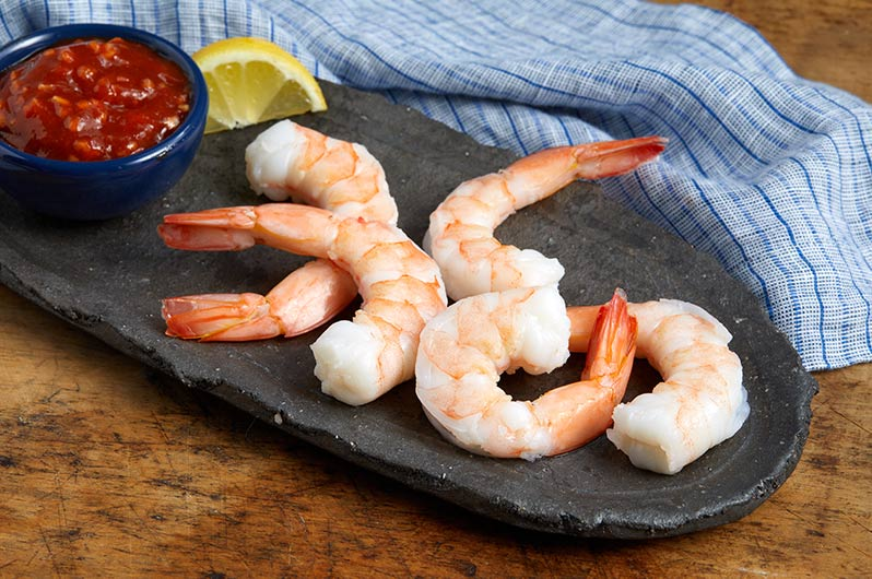 Cooked Shrimp Cocktail