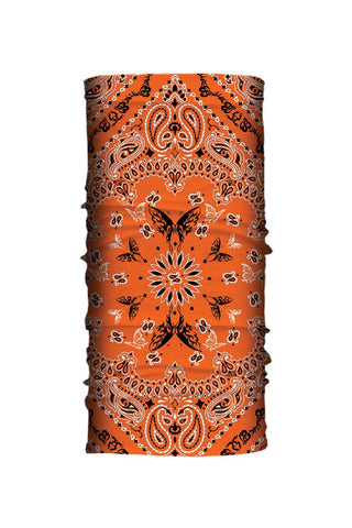 BUTTERFLY ORANGE PAISLEY  TUBE