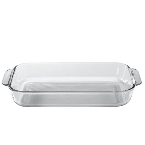 Glass Rectangular Bakeware 1.6L