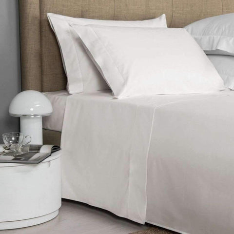 Lauren Taylor - T200 Cotton Sheet Set, Ivory