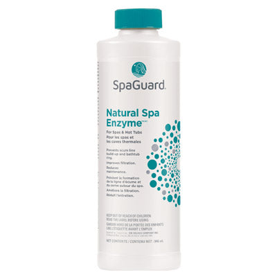 "Natural Spa Enzyme</br><font color=""grey"">(Cleans scum line)</font>"