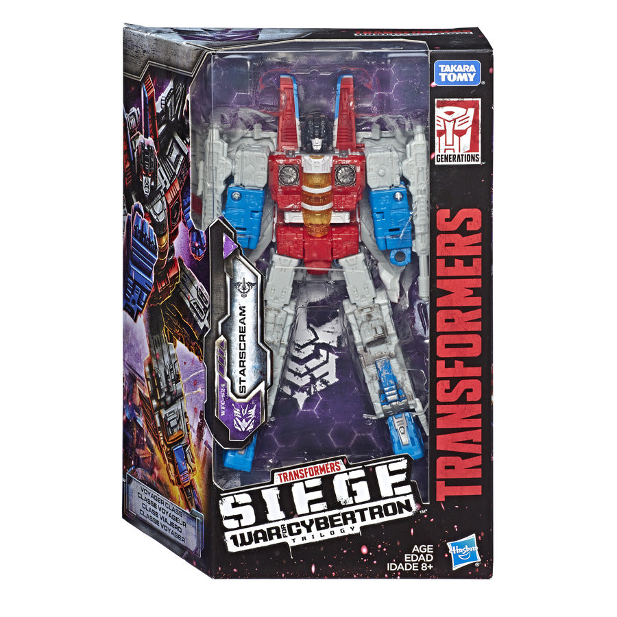 Transformers Generations War for Cybertron Siege Voyager Starscream Wave 2