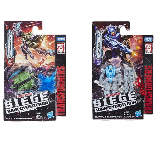Transformers Siege Battle Masters Wave 2 Set of 2
