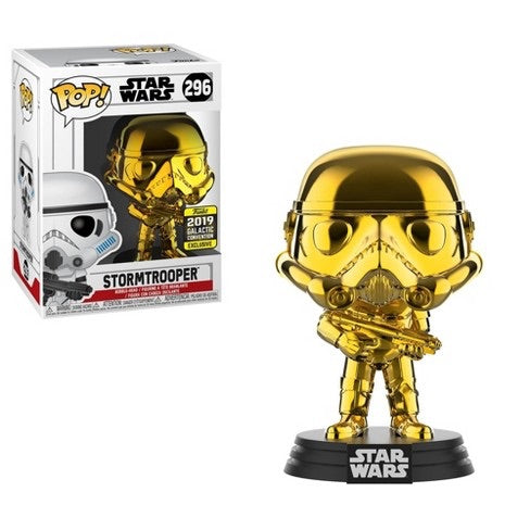 Star Wars Galactic Convention Exclusive Gold Stormtrooper