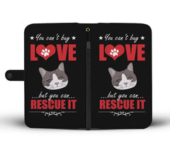 Cat Lover Design Bifold Wallet