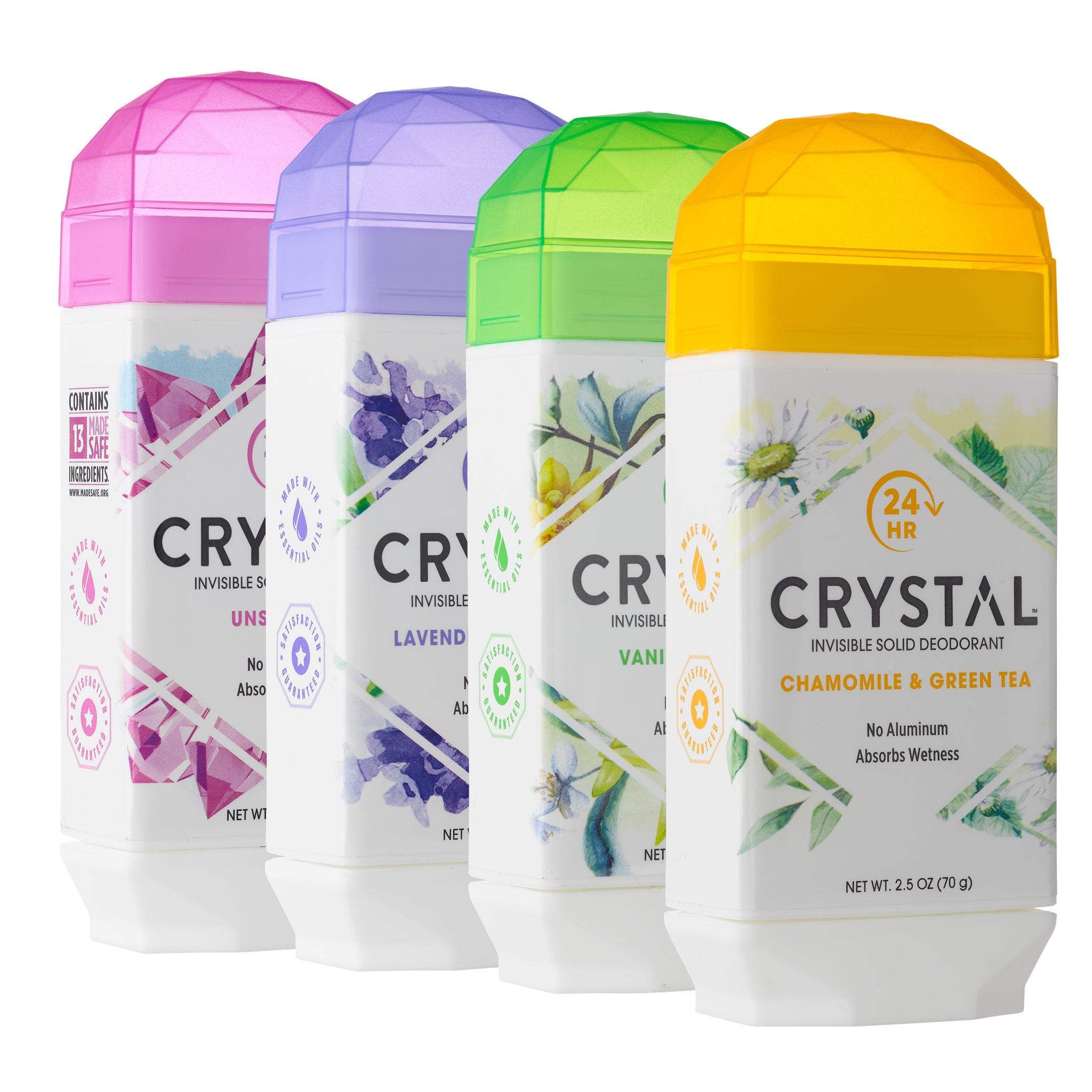 Invisible Solid Deodorant 4-Pack