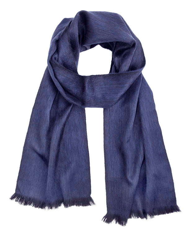 Alpaca Scarf - Moonlight Blue