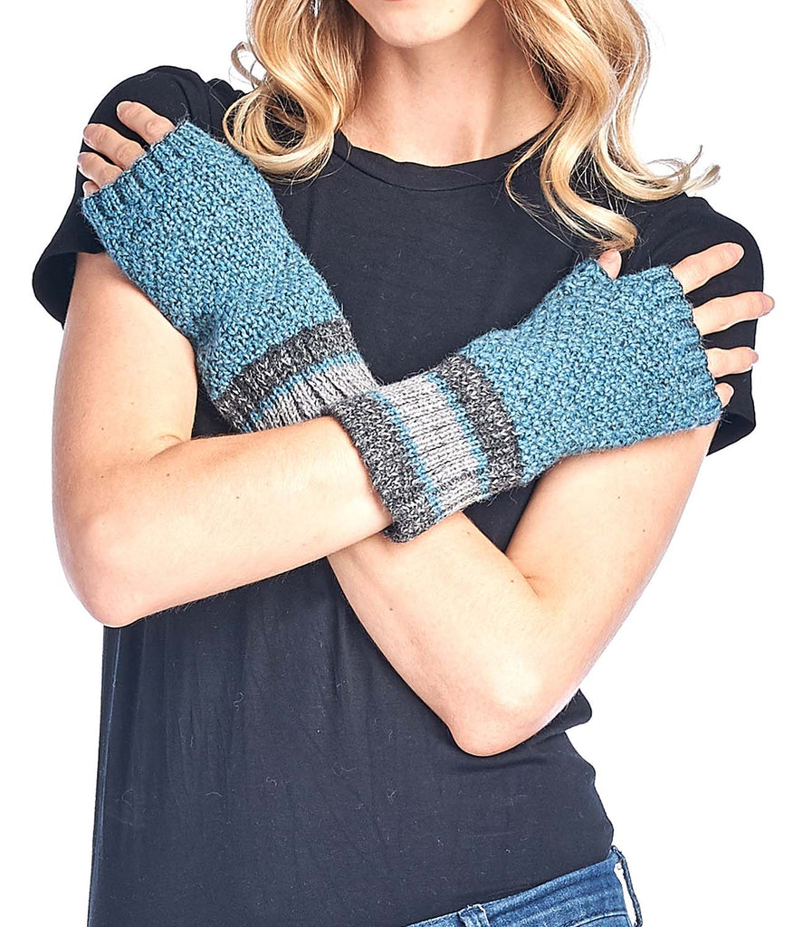 Alpaca Gloves - Carrera - Teal