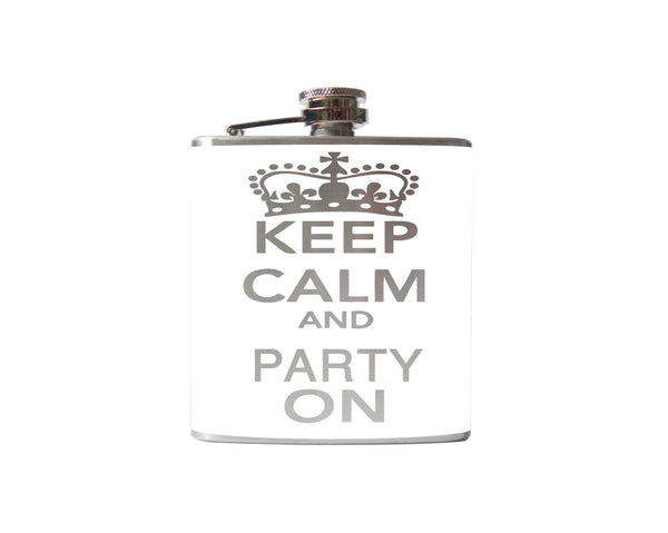Keep Calm and Party On Flask