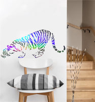 Crouching Tiger Decal | Vinyl Wall Sticker