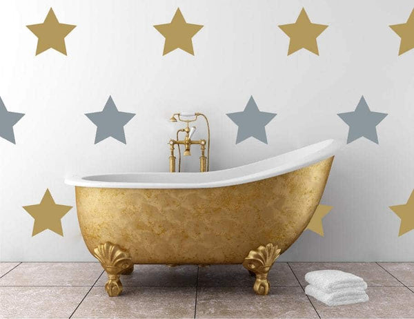 Large Star Decals | Vinyl Wall Pattern