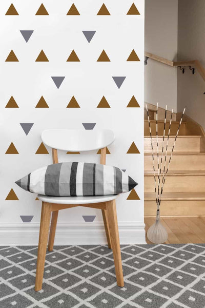 Triangle Decals | Vinyl Wall Pattern